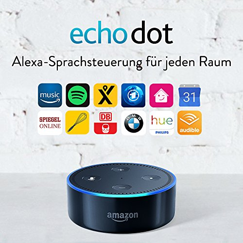Amazon Echo Dot (2. Generation), Schwarz - 6