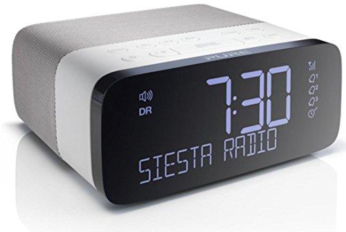 Pure Siesta Rise Radiowecker DAB / UKW weiß