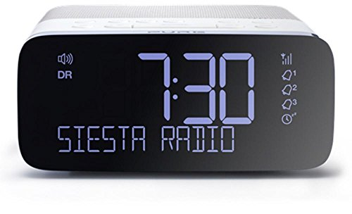Pure Siesta Rise Radiowecker DAB / UKW weiß - 7