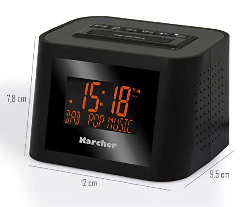 Karcher DAB 2420 Stereo-Radiowecker DAB+, UKW mit RDS - 3