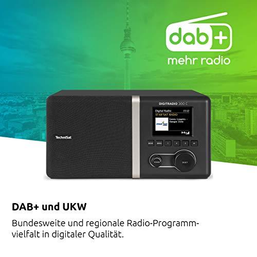 TechniSat DIGITRADIO 300 C DAB+/UKW schwarz - 3