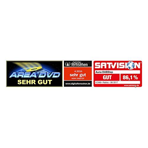 Auna DABStep Digitalradio DAB / DAB+ / UKW-Tuner braun - 2