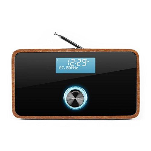 Auna DABStep Digitalradio DAB / DAB+ / UKW-Tuner braun - 3