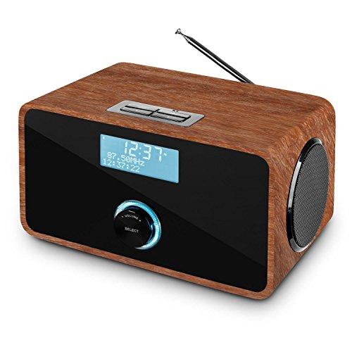 Auna DABStep Digitalradio DAB / DAB+ / UKW-Tuner braun - 8