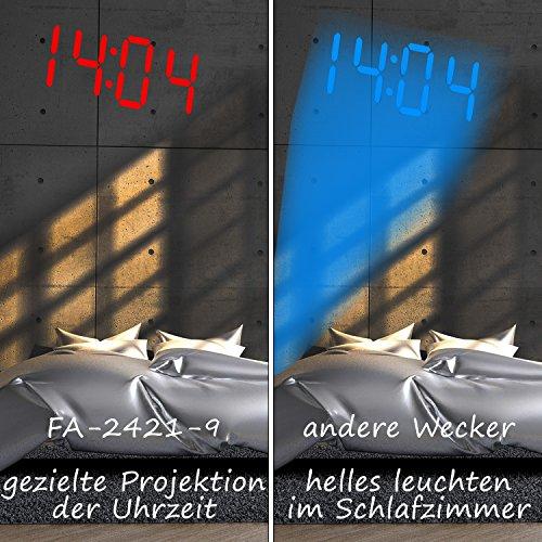 TZS First Austria – Projektionswecker FA-2421-9 - 2