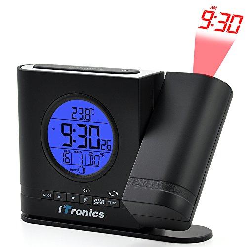 iTronics IR305BB Projektionswecker Funkuhr - 2