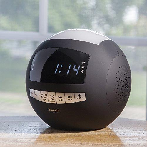 Raynic Digital Radiowecker Bluetooth Lautsprecher - 4