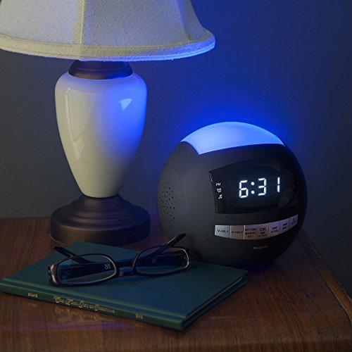 Raynic Digital Radiowecker Bluetooth Lautsprecher - 5