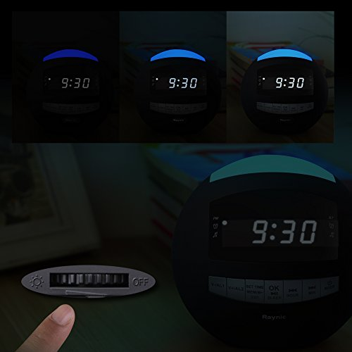 Raynic Digital Radiowecker Bluetooth Lautsprecher - 6