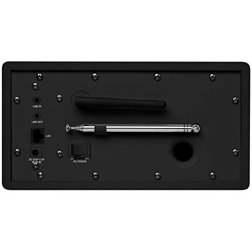 Medion P85080 WLAN, DAB+, UKW, Bluetooth, USB, Spotify, AirPlay, Multiroom, AUX schwarz - 5