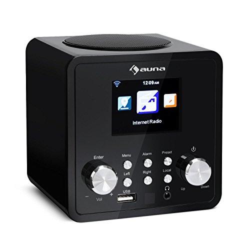 Auna IR-120 UKW/WLAN-Radio USB- und AUX-Anschluss