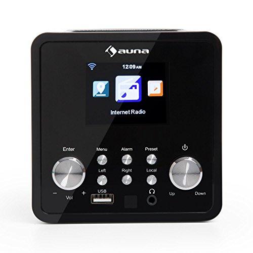 Auna IR-120 UKW/WLAN-Radio USB- und AUX-Anschluss - 3