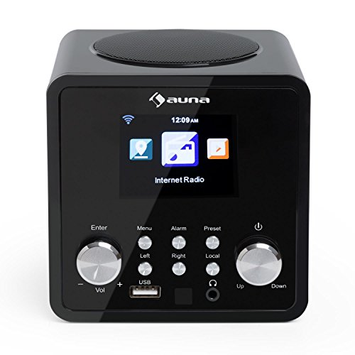 Auna IR-120 UKW/WLAN-Radio USB- und AUX-Anschluss - 4