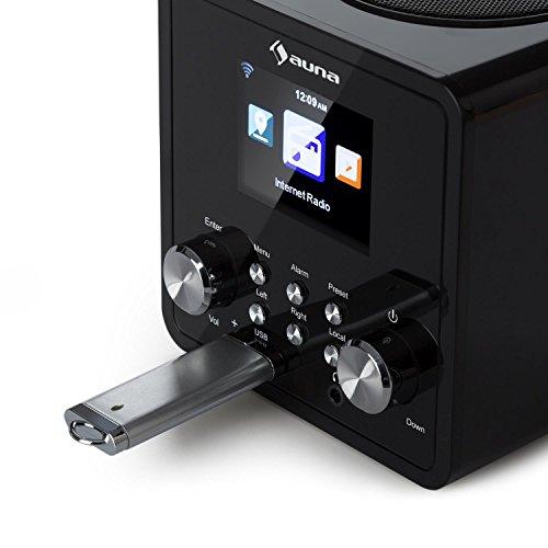 Auna IR-120 UKW/WLAN-Radio USB- und AUX-Anschluss - 6