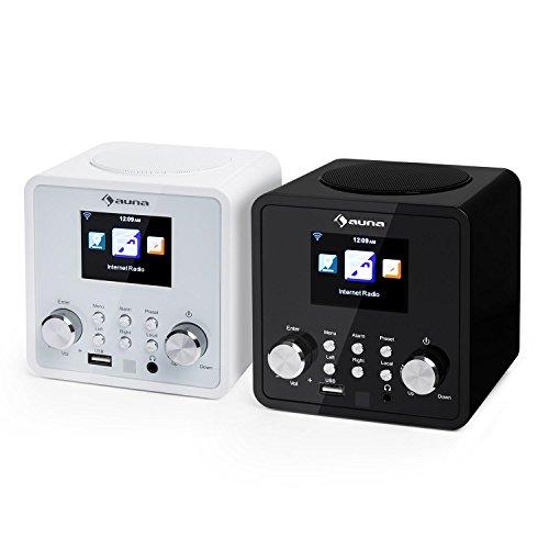 Auna IR-120 UKW/WLAN-Radio USB- und AUX-Anschluss - 8