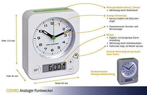 TFA Dostmann Funkwecker Modell 60.1511.02 - 3