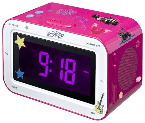 BigBen Radiowecker RR30 Kid rosa