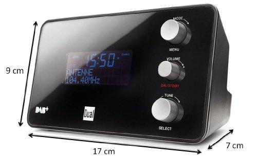 Dual DAB CR 25 Radiowecker DAB+/ UKW-Radio - 2