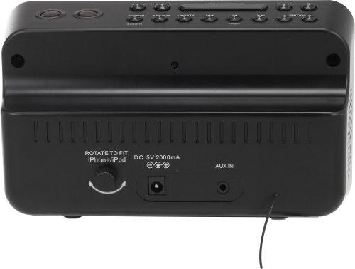 AudioSonic CL-1461 Radiowecker für Apple Dockingstation - 5