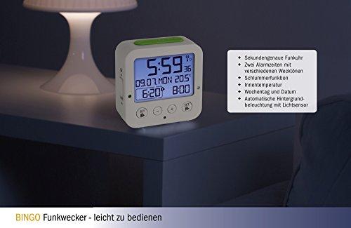 TFA Dostmann 60.2528.02 BINGO Funkwecker, Reisewecker - 5
