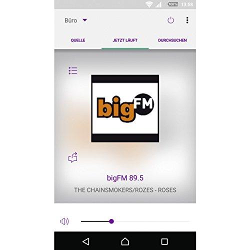 Hama Internetradio DIR3100 (WLAN / LAN / DAB+ / DAB / FM) - 10