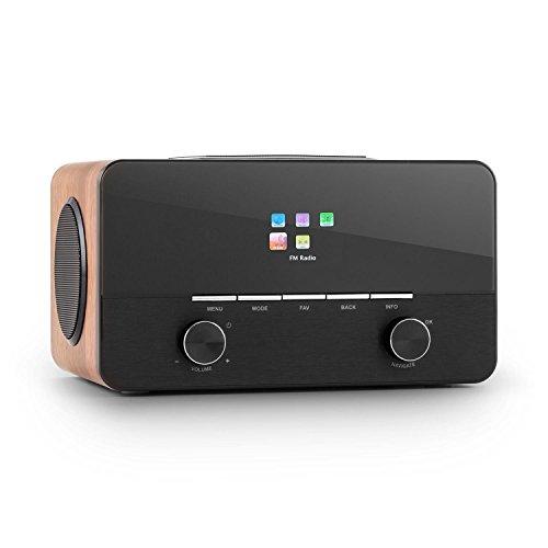 auna connect 150 dab wlan radio radiowecker und funkwecker. Black Bedroom Furniture Sets. Home Design Ideas