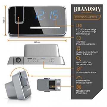 Brandson - Projektionswecker 3