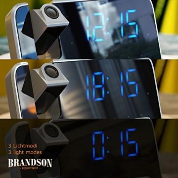 Brandson - Projektionswecker 4