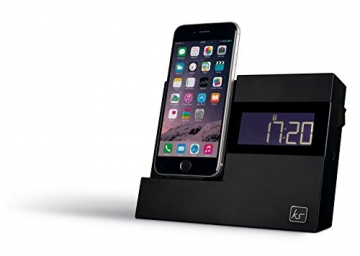 kitsound xdock3 radiowecker mit apple dockingstation. Black Bedroom Furniture Sets. Home Design Ideas