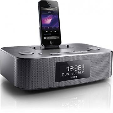 radiowecker philips dc295 12 mit apple dockingstation. Black Bedroom Furniture Sets. Home Design Ideas