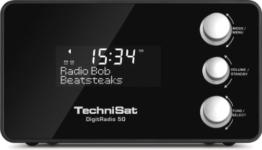 TechniSat DigitRadio 50 - Radiowecker DAB+/UKW-Tuner